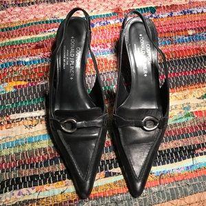 Couture Donald J Pliner Slingback Pointed Heels